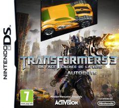 Jaquette de Transformers 3 : La Face Cachée de la Lune - édition Autobots DS