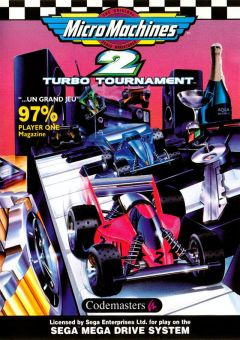 Jaquette de Micro Machines 2 Turbo Tournament Megadrive