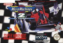 Jaquette de Micro Machines 2 Turbo Tournament Super NES