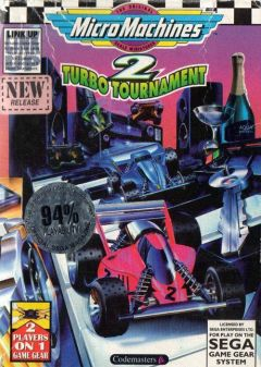 Jaquette de Micro Machines 2 Turbo Tournament GameGear
