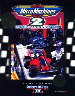 Jaquette de Micro Machines 2 Turbo Tournament Amstrad CPC
