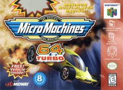 Jaquette de Micro Machines 64 Turbo Nintendo 64