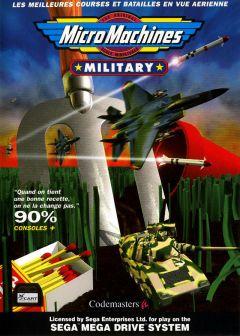 Jaquette de Micro Machines Military Megadrive