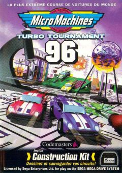 Jaquette de Micro Machines Turbo Tournament 96 Megadrive