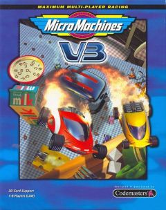 Jaquette de Micro Machines V3 PC
