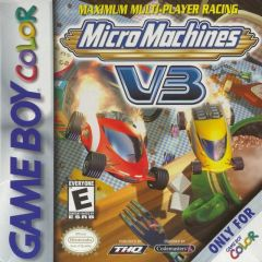 Jaquette de Micro Machines V3 Game Boy Color