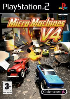 Jaquette de Micro Machines V4 PlayStation 2