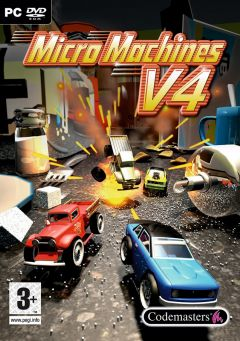 Jaquette de Micro Machines V4 PC