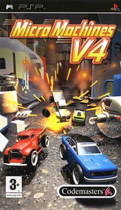Jaquette de Micro Machines V4 PSP