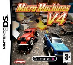 Jaquette de Micro Machines V4 DS