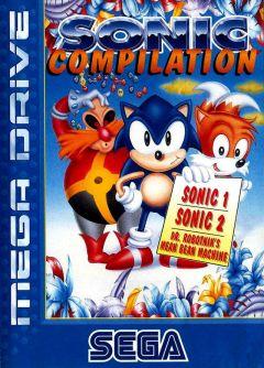 Jaquette de Sonic Compilation Megadrive