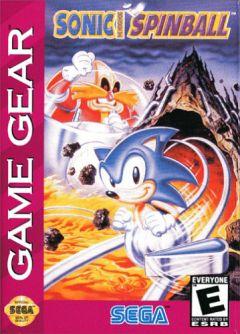 Jaquette de Sonic Spinball GameGear