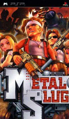 Jaquette de Metal Slug PSP