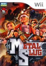 Jaquette de Metal Slug Wii