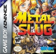 Jaquette de Metal Slug Game Boy Advance