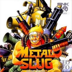 Jaquette de Metal Slug NeoGeo
