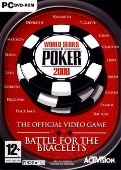 Jaquette de World Series of Poker 2008 : Battle for the Bracelets PC