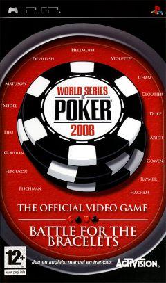 Jaquette de World Series of Poker 2008 : Battle for the Bracelets PSP