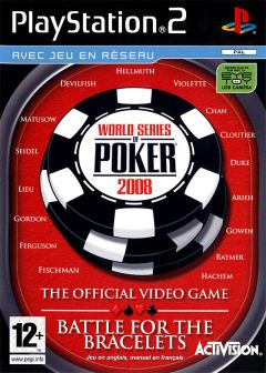 Jaquette de World Series of Poker 2008 : Battle for the Bracelets PlayStation 2