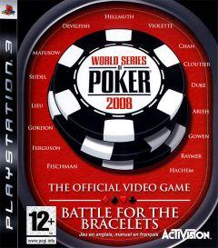 Jaquette de World Series of Poker 2008 : Battle for the Bracelets PlayStation 3