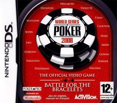 Jaquette de World Series of Poker 2008 : Battle for the Bracelets DS