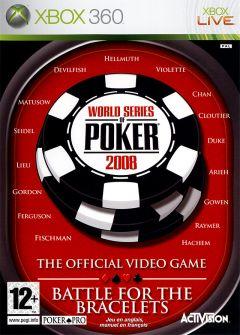 Jaquette de World Series of Poker 2008 : Battle for the Bracelets Xbox 360