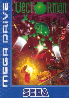 Jaquette de Vectorman Megadrive