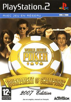 Jaquette de World Series of Poker : Tournament of Champions PlayStation 2