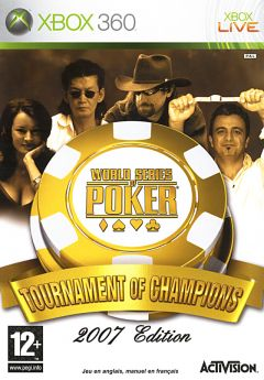 Jaquette de World Series of Poker : Tournament of Champions Xbox 360
