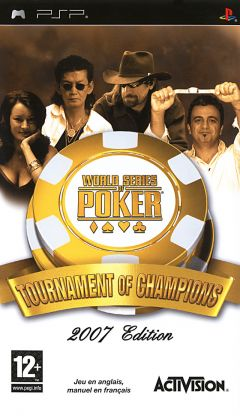 Jaquette de World Series of Poker : Tournament of Champions PSP