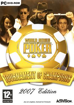Jaquette de World Series of Poker : Tournament of Champions PC