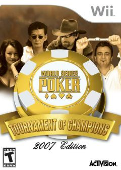 Jaquette de World Series of Poker : Tournament of Champions Wii