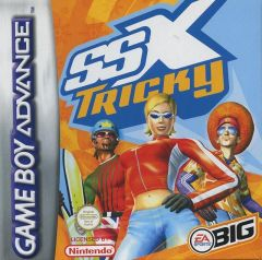 Jaquette de SSX Tricky Game Boy Advance