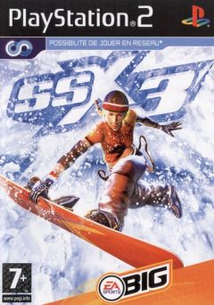 Jaquette de SSX 3 PlayStation 2
