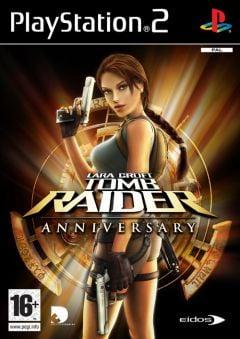 Jaquette de Tomb Raider Anniversary PlayStation 2