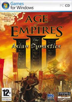 Jaquette de Age of Empires III : The Asian Dynasties PC