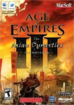 Jaquette de Age of Empires III : The Asian Dynasties Mac