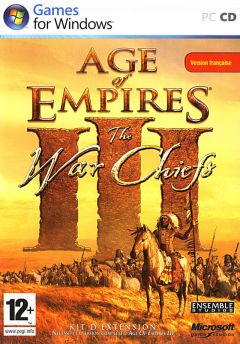 Jaquette de Age of Empires III : The WarChiefs PC