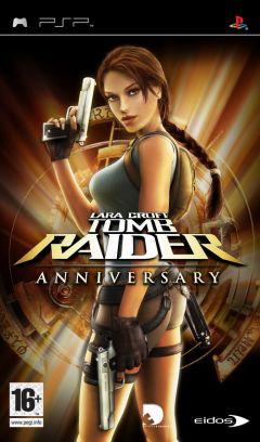 Jaquette de Tomb Raider Anniversary PSP