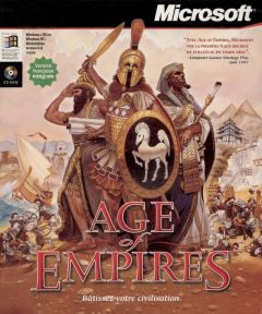 Jaquette de Age of Empires PC