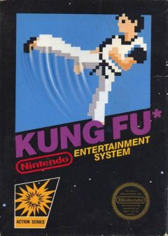 Jaquette de Kung Fu NES