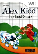 Jaquette de Alex Kidd : The Lost Stars Wii