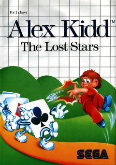 Jaquette de Alex Kidd : The Lost Stars Master System
