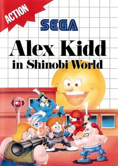 Jaquette de Alex Kidd in Shinobi World Master System