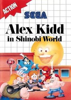 Jaquette de Alex Kidd in Shinobi World Master System