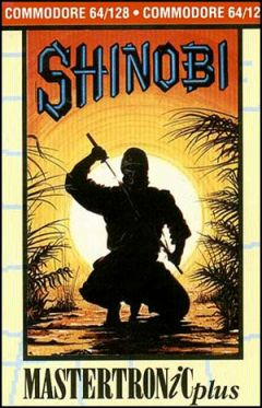 Jaquette de Shinobi Classic Commodore 64