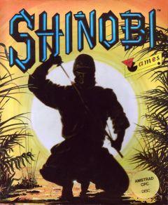 Jaquette de Shinobi Classic Amstrad CPC