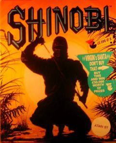 Jaquette de Shinobi Classic Atari ST