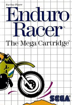 Jaquette de Enduro Racer Master System