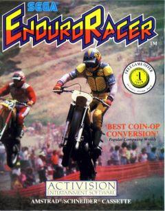 Jaquette de Enduro Racer Amstrad CPC